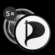 Badges ~ Badge petit 25 mm ~ Badge Parti Pirate