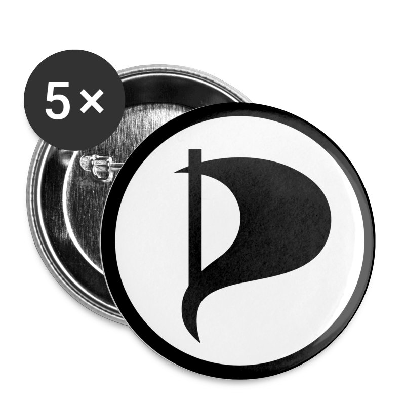 Badge Parti Pirate - Badge petit 25 mm