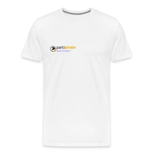 Tee-Shirt Parti Pirate Parti Pirate Sud Ouest - T-shirt Premium Homme