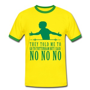 Willian No No No - Men's Ringer Shirt