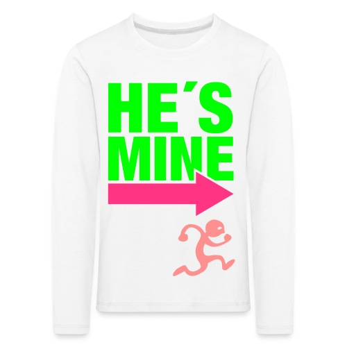trøje - Børne premium T-shirt med lange ærmer