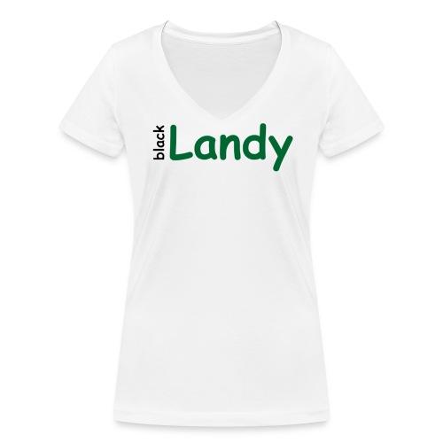 Damen T-Shirt mit V-Ausschnitt - Frauen Bio-T-Shirt mit V-Ausschnitt von Stanley & Stella
