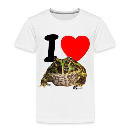 T-Shirt - I love Pacman Frogs - Kinder Premium T-Shirt