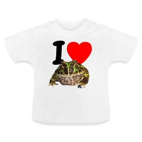 T-Shirt - I love Pacman Frogs - Baby T-Shirt