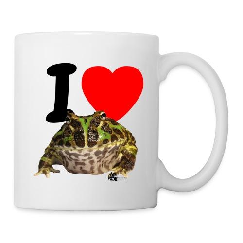 Kaffeebecher - I Love Pacman Frogs - Tasse