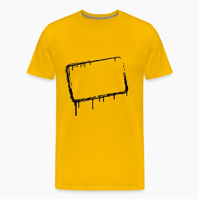 graffiti rahmen t shirt spreadshirt. Black Bedroom Furniture Sets. Home Design Ideas