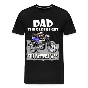Dad - The Older I get - Men's Premium T-Shirt