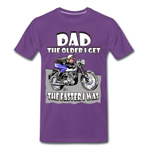 Dad - The Older I get - T-shirt Premium Homme