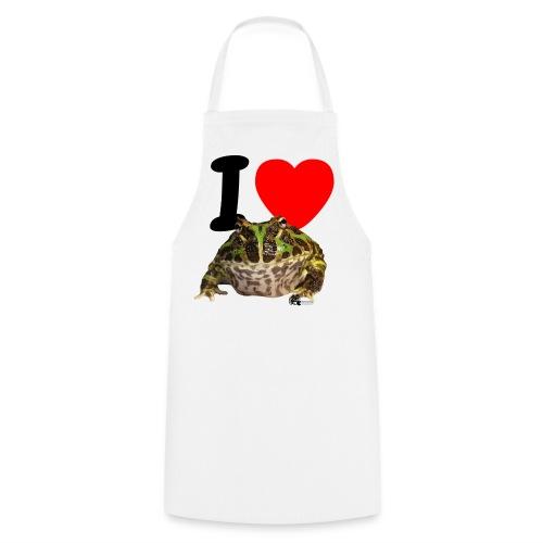 Grillschürze - I love Pacman Frogs - Kochschürze