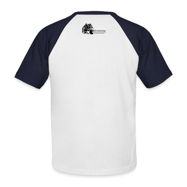 """T-Shirt - """"I love Pacman Frogs"""" (Baseball-Style)"""