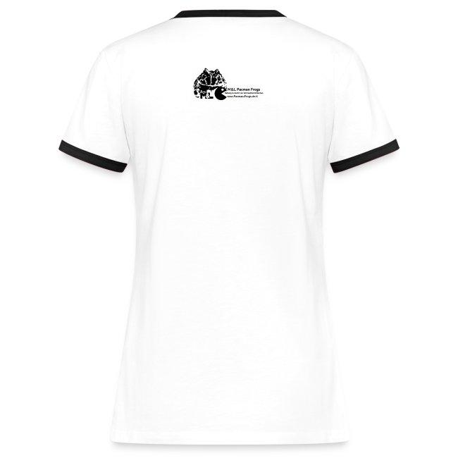 "T-Shirt - ""I love Pacman Frogs"" (Retro-Kontrast-Style)"