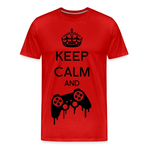 Keep calm and Game - T-shirt Premium Homme