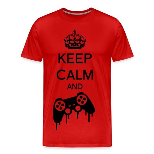 Keep calm and Game - T-shirt Premium Homme