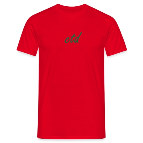 CTD  - Men's T-Shirt