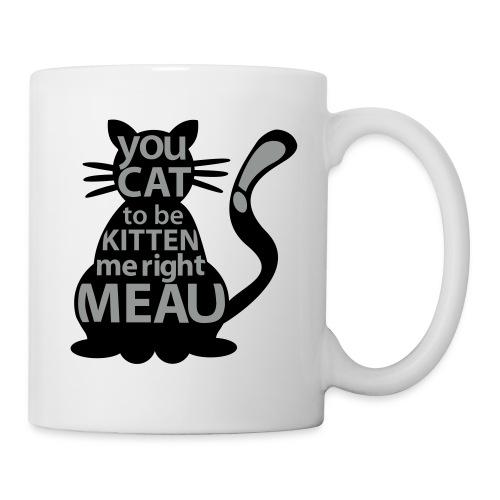 Hipster-Cat  - Tasse