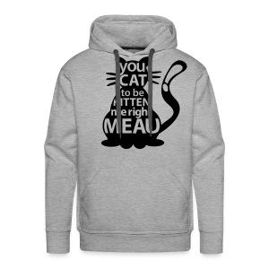 Hipster-Cat  - Männer Premium Hoodie