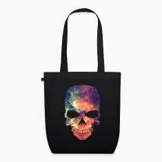 Universe - Space - Galaxy Skull Bags & Backpacks