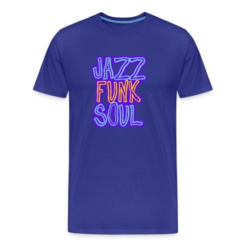 Jazz, Funk, Soul - Men's Premium T-Shirt