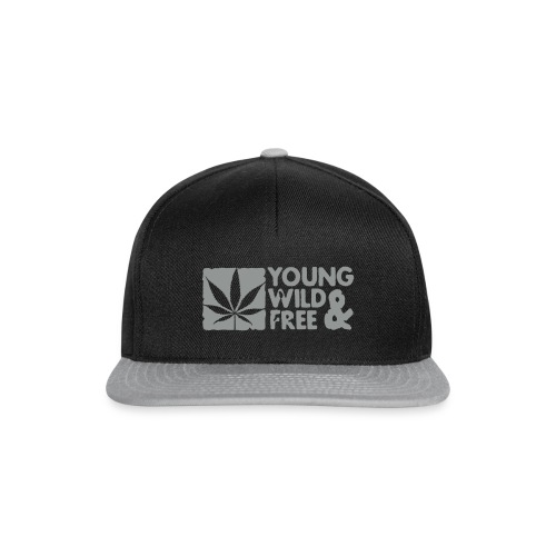 Casquette Samizi Young Wild & Free by SpreadThouth. - Casquette snapback