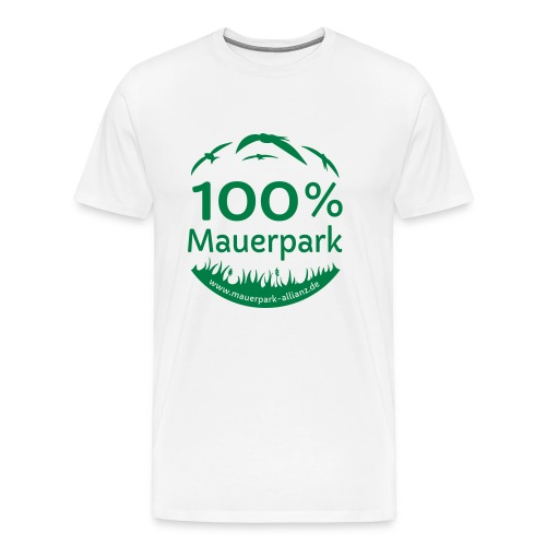 100% Mauerpark - Männer Premium T-Shirt
