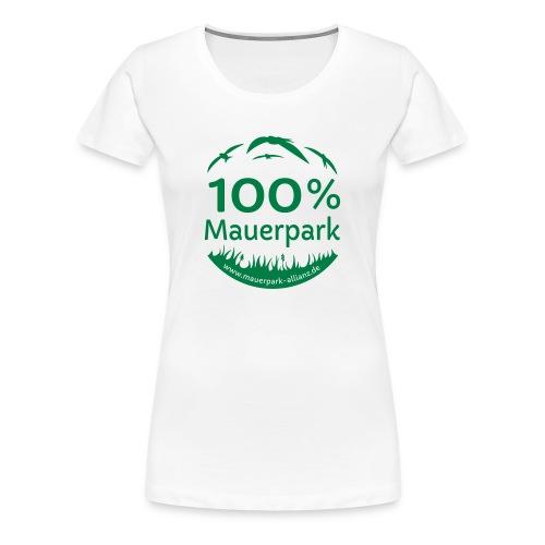 100% Mauerpark - Frauen Premium T-Shirt