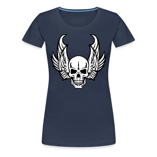 Super crane Biker Stars - T-shirt Premium Femme