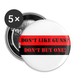 GPC Button - Dont like Guns? - Buttons groß 56 mm