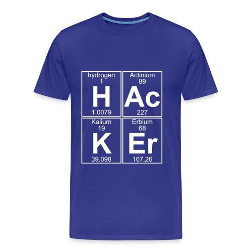Hacking Element - T-shirt Premium Homme