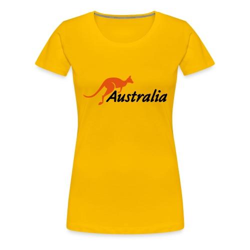 Australia - T-shirt Premium Femme