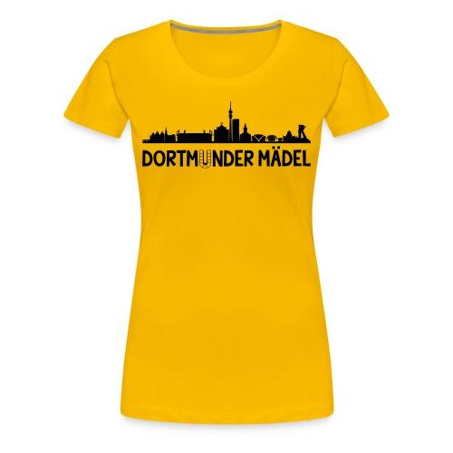 Dortmunder Mädel T-Shirt Frauen - Frauen Premium T-Shirt