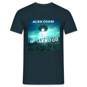 Ufo in Hollywood Man C - Men's T-Shirt