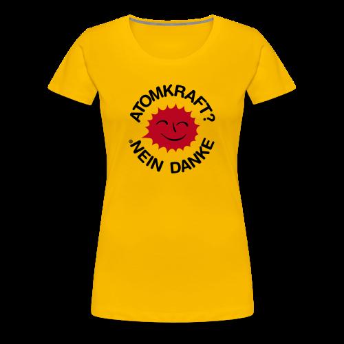 Atomkraft? Nein Danke! - Frauen Premium T-Shirt