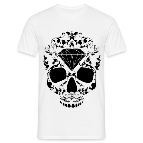 Diamond Skull Shirt - Mannen T-shirt