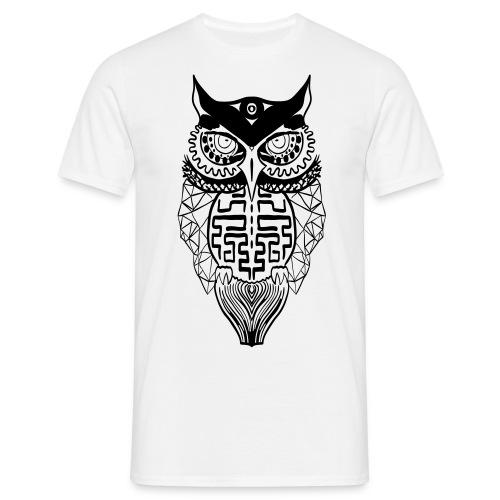 Owl Shirt - Mannen T-shirt