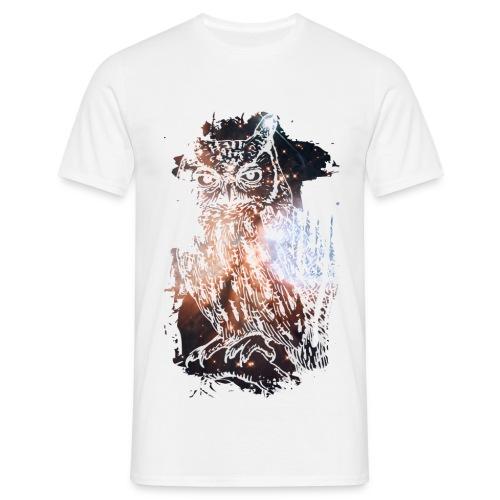 Hipster Owl - Mannen T-shirt