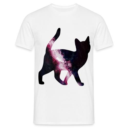 Galaxy Cat Shirt - Mannen T-shirt