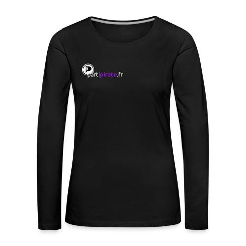 Tee-shirt Femme manches longues - T-shirt manches longues Premium Femme