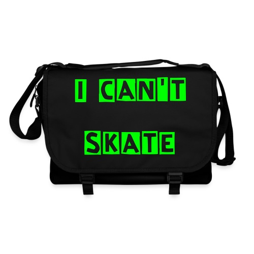 I can't skate messenger bag - Shoulder Bag