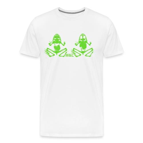 T-Shirt M&L BONES - Männer Premium T-Shirt