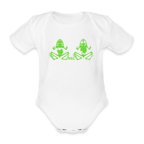 T-Shirt M&L BONES - Baby Bio-Kurzarm-Body