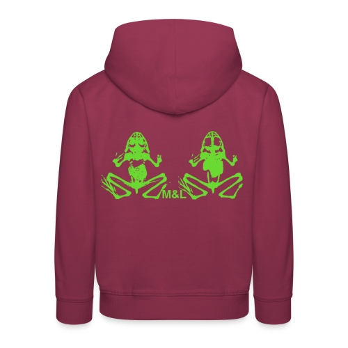 Kapuzen-Pullover M&L BONES - Kinder Premium Hoodie