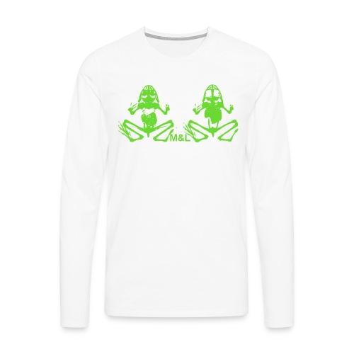 Langarm-Shirt M&L BONES - Männer Premium Langarmshirt