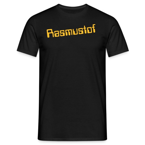 Men`s Rasmustof Text - Men's T-Shirt