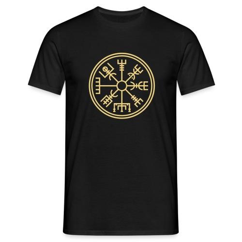 Vegsvisir - der Wikinger Kompass - Männer T-Shirt