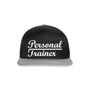 Personal Trainer Snapback By Fitness Pro Master - Snapback Cap