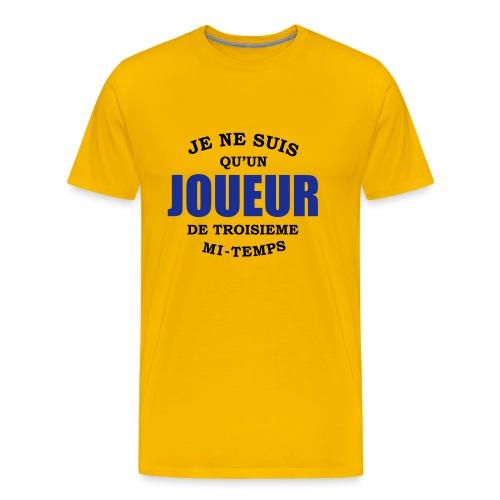 試合の後パーティが好き! - Men's Premium T-Shirt