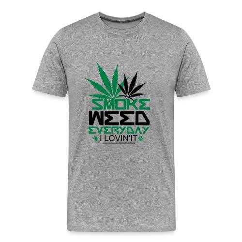 Tee-shirt smoke weed Original - T-shirt Premium Homme