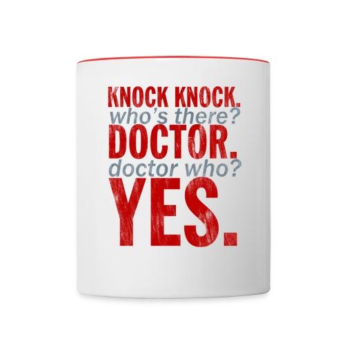 Doctor Who mug - Contrasting Mug