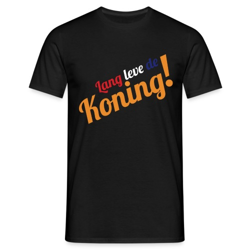 Heren model shirt Lang leve de Koning!  - Mannen T-shirt
