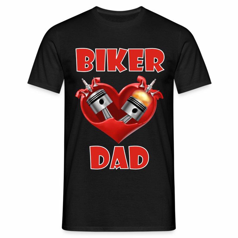 Biker Dad - Men's T-Shirt